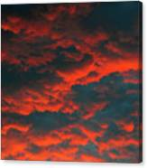 Cloudscape A1 Canvas Print