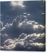 Cloudscape And River Canvas Print