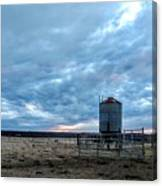 Cloudy Day On The Ranch Canvas Print