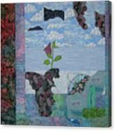 Cloudy Fans Canvas Print