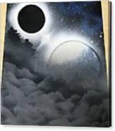 Cloudy Nite Canvas Print