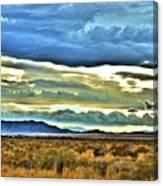Cloudy Sunday Drive Canvas Print