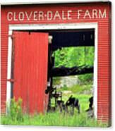 Clover Dale Farm Canvas Print