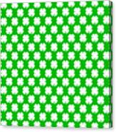 Clover Titled  - Pattern Canvas Print