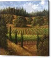 Cloverdale Vines Canvas Print
