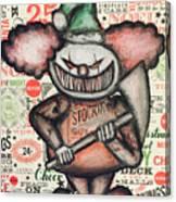 Clown Nightmare Canvas Print