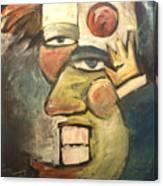 Clown Painting Canvas Print