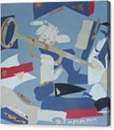 Clown Trumpet Canvas Print