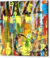 Club De Jazz Canvas Print
