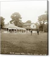 Club House And Golf Links, Old Del Monte, Monterey, California Circa 1920 Canvas Print