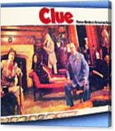 Clue Board Game Painting Canvas Print