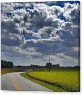 Clyde Fitzgerald Road Scenery Canvas Print