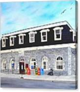 CN Station Belleville Circa 1856 Canvas Print