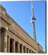 Cn Tower Toronto Canvas Print