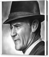Coach Tom Landry Canvas Print