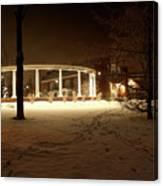 Coady International Institute Winter Night Nova Scotia Canvas Print