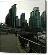 Coal Harbour Vancouver Canvas Print