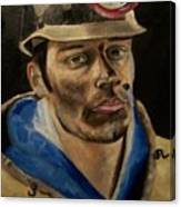 Coal Miner Canvas Print