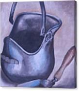 Coal Pail Canvas Print