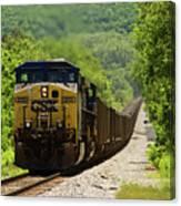 Coal Train Canvas Print