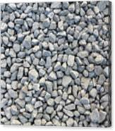 Coarse Gravel Canvas Print