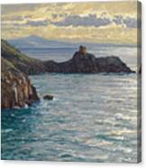Coast At Amalfi Canvas Print