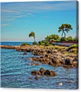 Coast At Antibes France Dsc02221 Canvas Print