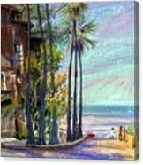 Coast Blvd La Jolla Canvas Print