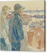 Coast Fishermen Canvas Print