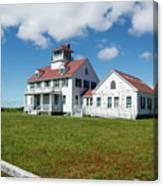 Coast Guard Building, Cape Cod Canvas Print