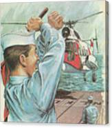 Coast Guard Career Canvas Print