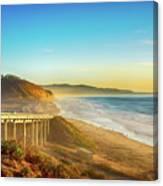 Coast Highway Del Mar Canvas Print
