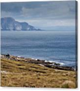 Coast Of Achill Island Canvas Print