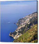 Coast Of Amalfi Canvas Print