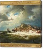 coast of Bohuslan Canvas Print