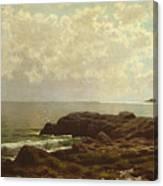 Coast Off Grand Manan Canvas Print