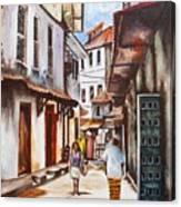 Coast Scene Canvas Print
