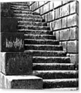 Coast - Sea Stairs Canvas Print