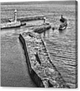 Coast - Whitby Harbour Canvas Print