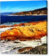 Coastal Abstraction Canvas Print