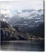 Coastal Beauty Of Alaska 1 Canvas Print