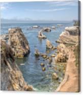 Coastal California Canvas Print