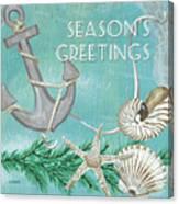 Coastal Christmas 4 Canvas Print