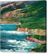 Coastal Coves Canvas Print