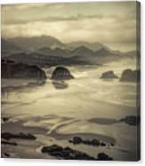 Coastal Dawn Canvas Print