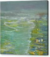 Coastal House Canvas Print