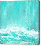 Coastal Inspired Art Canvas Print