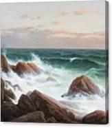 Coastal Landscape. Canvas Print