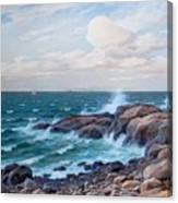 Coastal Landscape Canvas Print