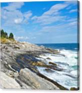 Coastal Maine Canvas Print